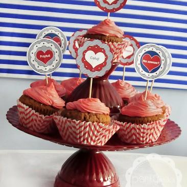 Cupcakes - Walentynki