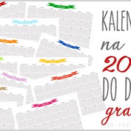 Kalendarz do druku na 2017 rok