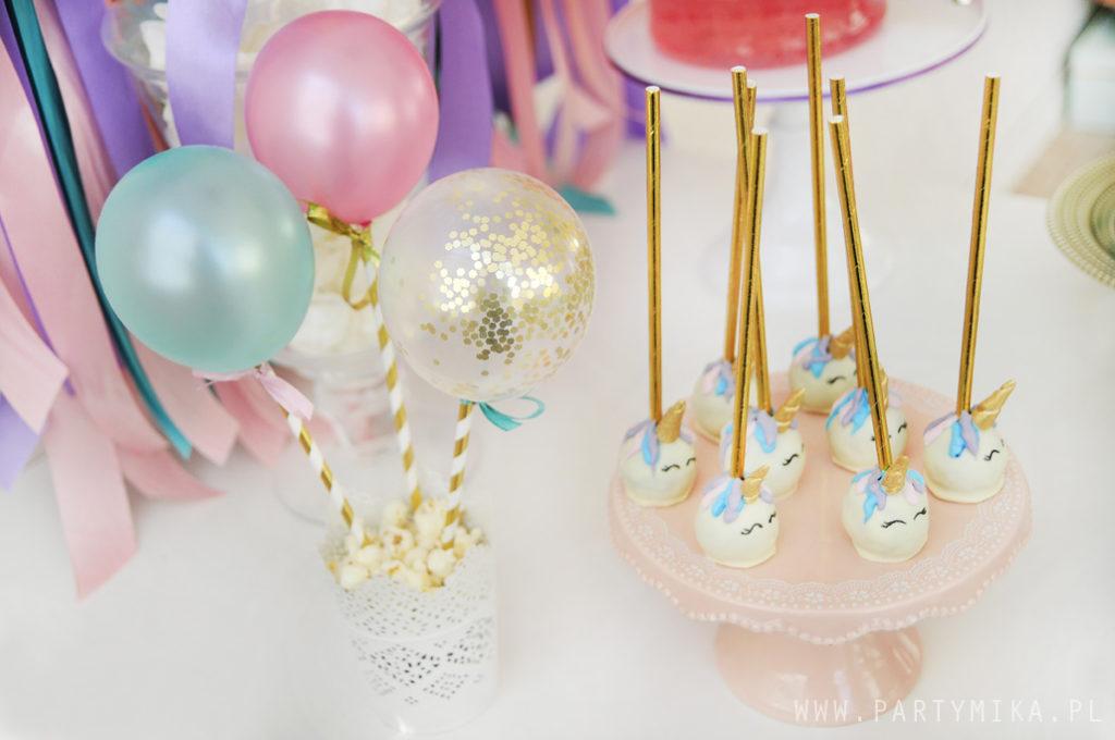 balony z confetti mini baalloons