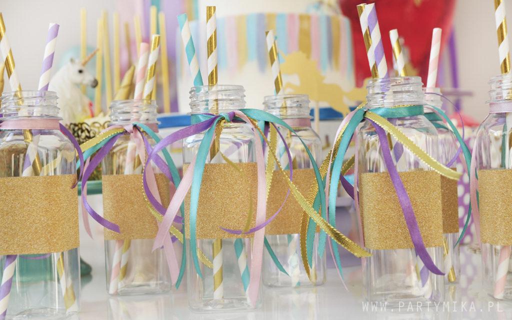 buteleczki słodki stół