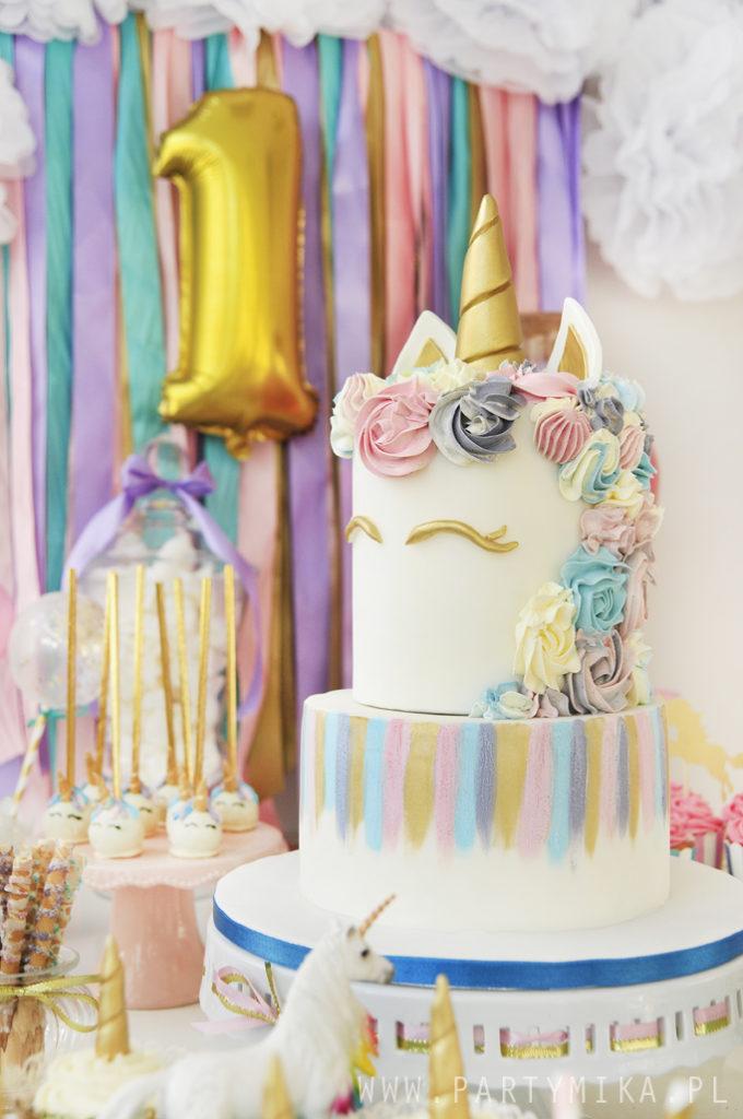 tort jednorożec unicorn cake