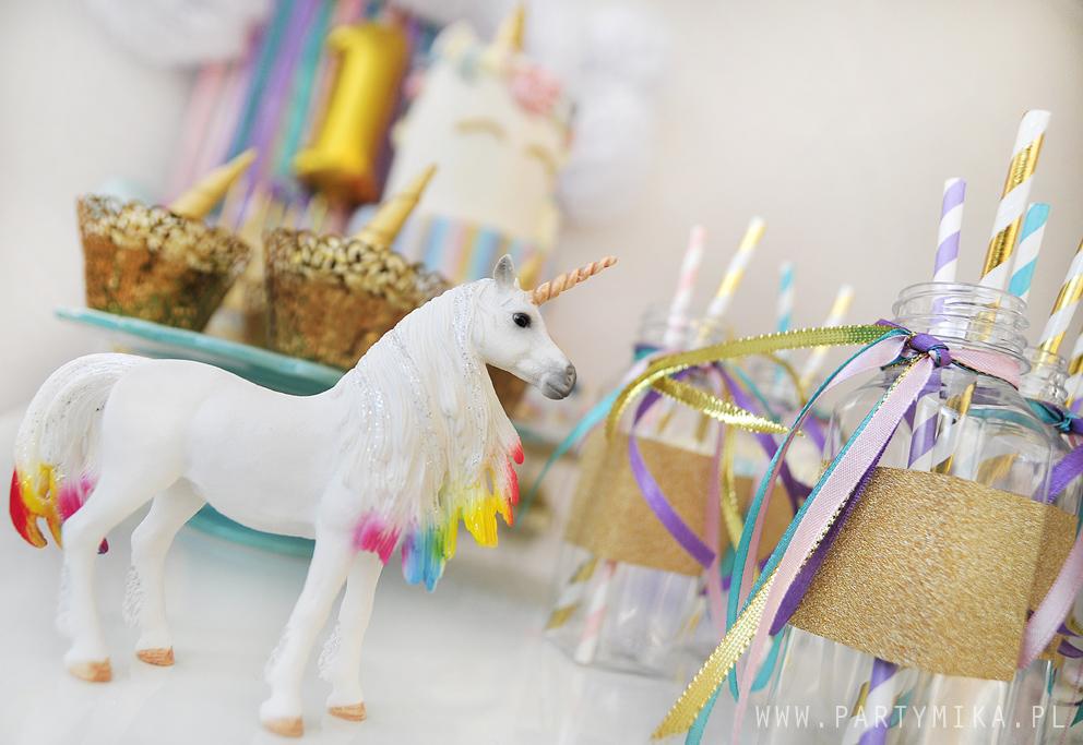 urodziny dla dziewczynki z jednorożcem unicorn party
