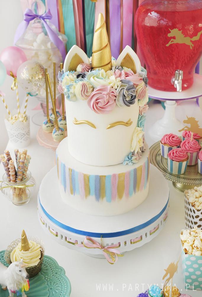 urodziny z jednorożcem unicorn