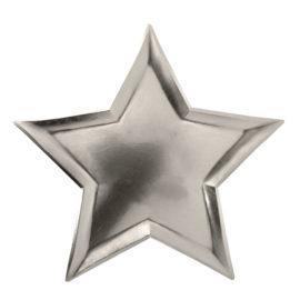 taalerzyki srebrne gwiazdki