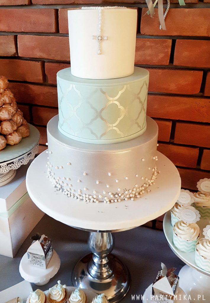 tort komunijny dla chlopca