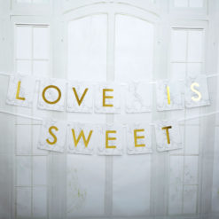 girlanda love is sweet wesele