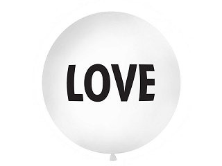 balon gigant LOVE